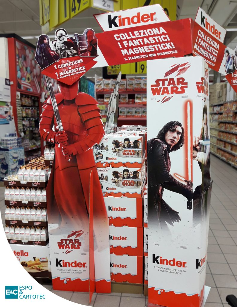 Cartello Sagomato Star Wars