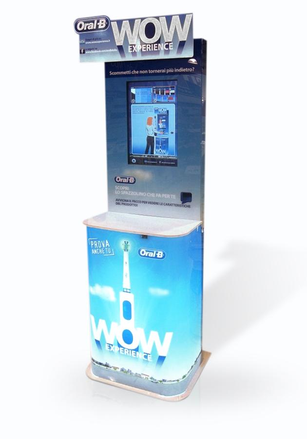 Totem multimediale interattivo